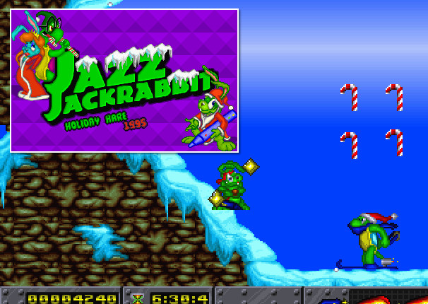 Jazz Jackrabbit Xmas Edition-Holiday Hare 1995