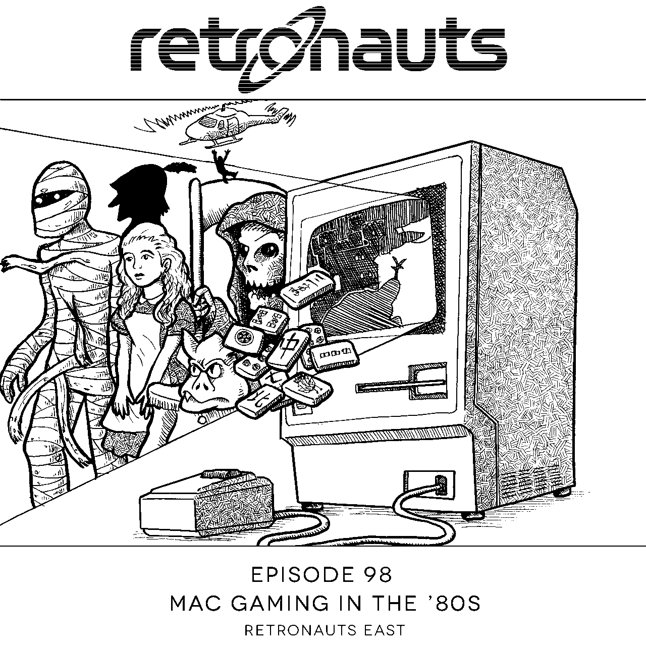 Retronauts Episode 98 Mac Games