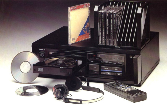The First CD-Player - Sony CDP-101