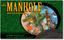 Manhole Title Screen
