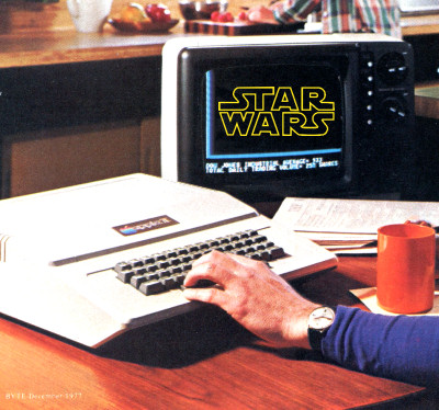Fictional Apple II Star Wars Composite