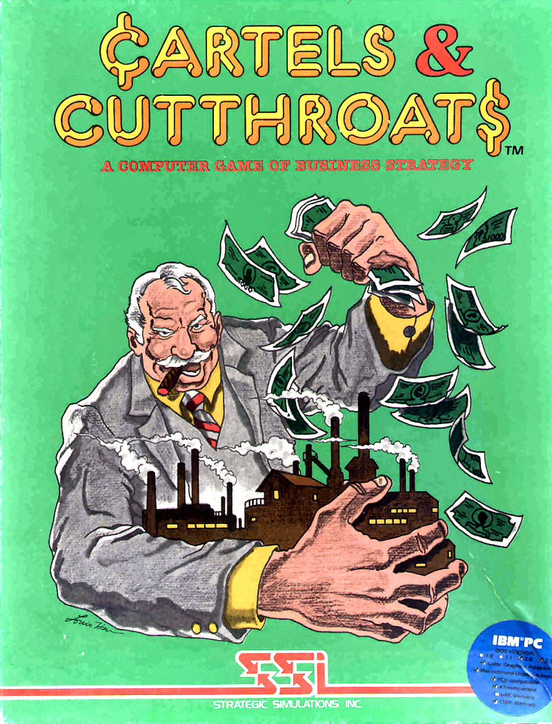 Cartels and Cutthroats Cover Art