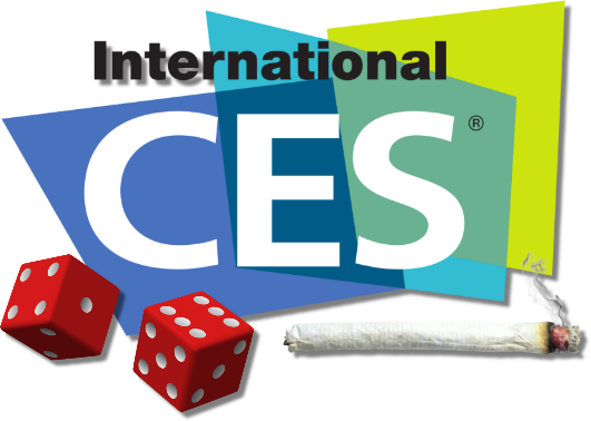 Smoking dope and shooting craps at CES