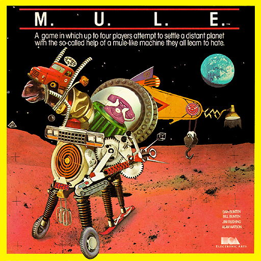EA M.U.L.E. Box Art