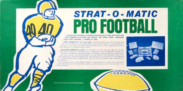 Strat-O-Matic Football Box