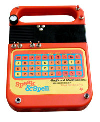 Circuit Bent Texas Instruments Speak & Spell