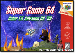 Super Game 64 Color EX Advance DS '99 Box