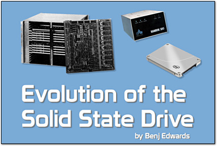Evolution of the Solid-State Drive on PC World.com