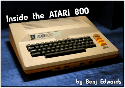 Inside the Atari 800 - PC World