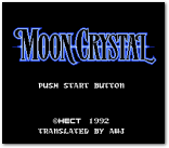 Moon Crystal Title Screen