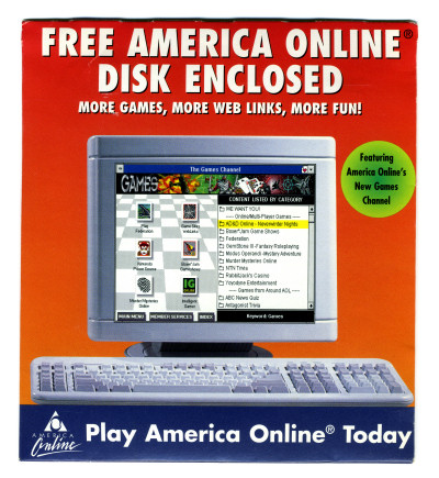 GamePro AOL Game Disk Package - 1996