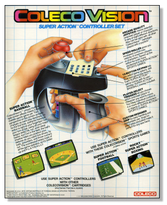Coleco Super Action Controllers