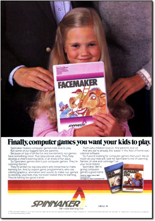 Facemaker Software Ad
