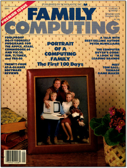 Family Computing - September 1983 - Cover Scan
