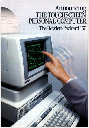 HP-150 Touchscreen Computer Ad