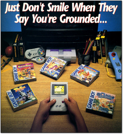 Hudson Game Boy Ad - EGM 1993