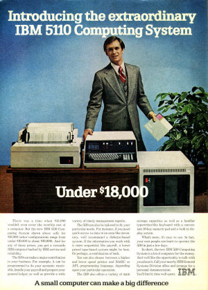 Introducing the Extraordinary IBM 5110 Computing System