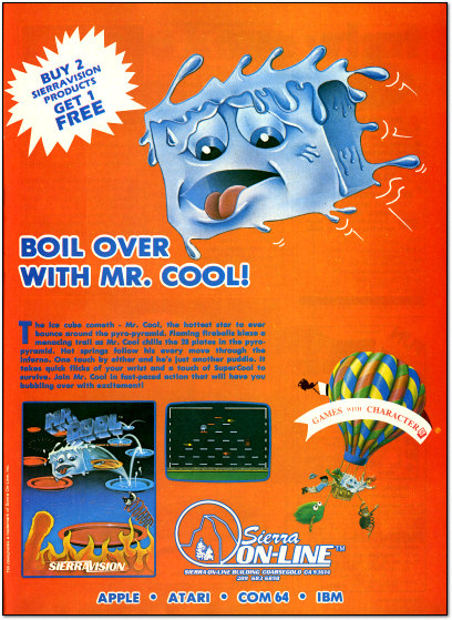 Mr. Cool - Electronic Games 1983