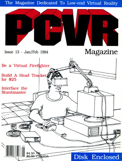 PCVR Magazine Cover Jan-Feb 1994