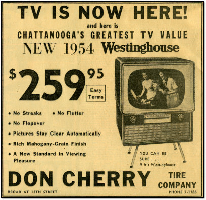 TV is Here - Westinghouse 1954