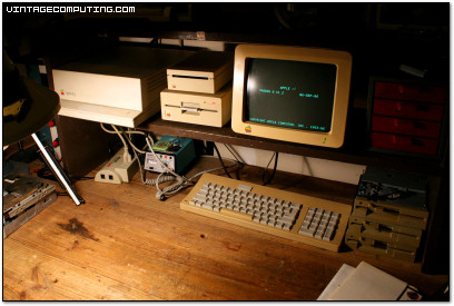 An Apple IIgs Workbench Computer - Photo by Benj Edwards