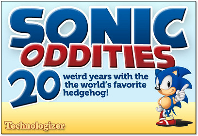 Sonic the Hedgehog Oddities on Technologizer