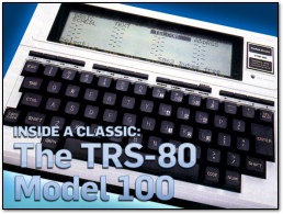 Inside a Classic: The TRS-80 Model 100 on PC World