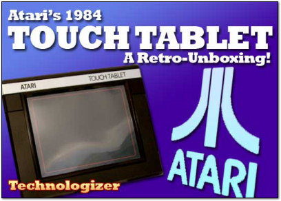 Atari Touch Tablet Unboxing