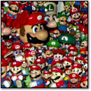 The Land of 10,000 Plastic Marios