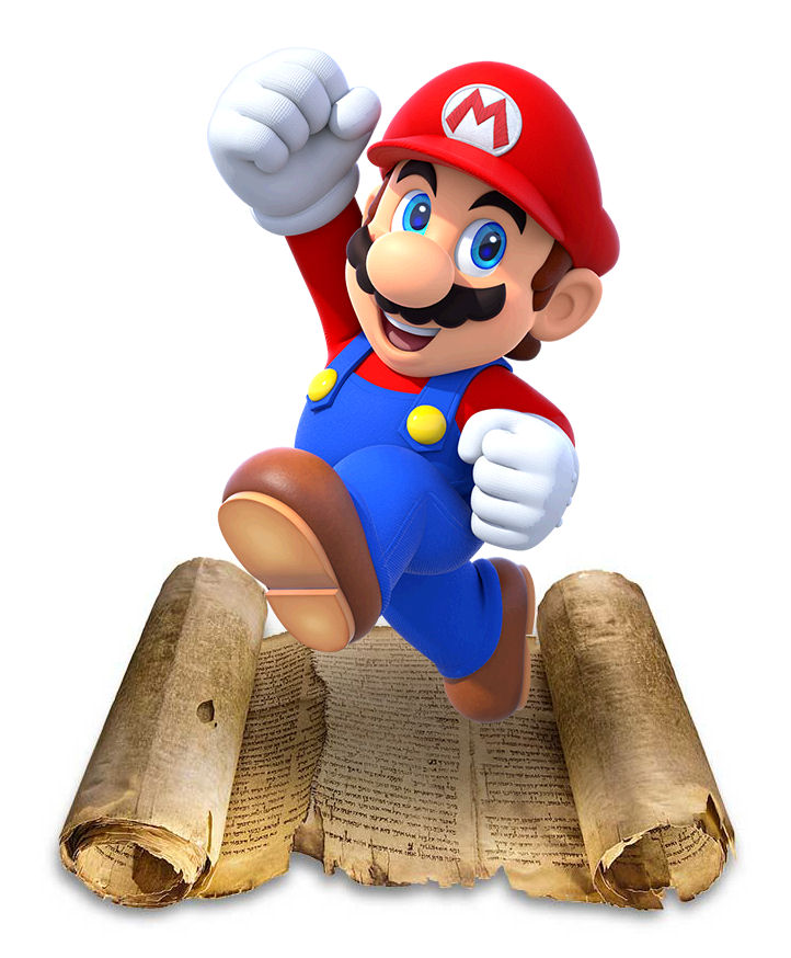 The Mario Sea Scrolls