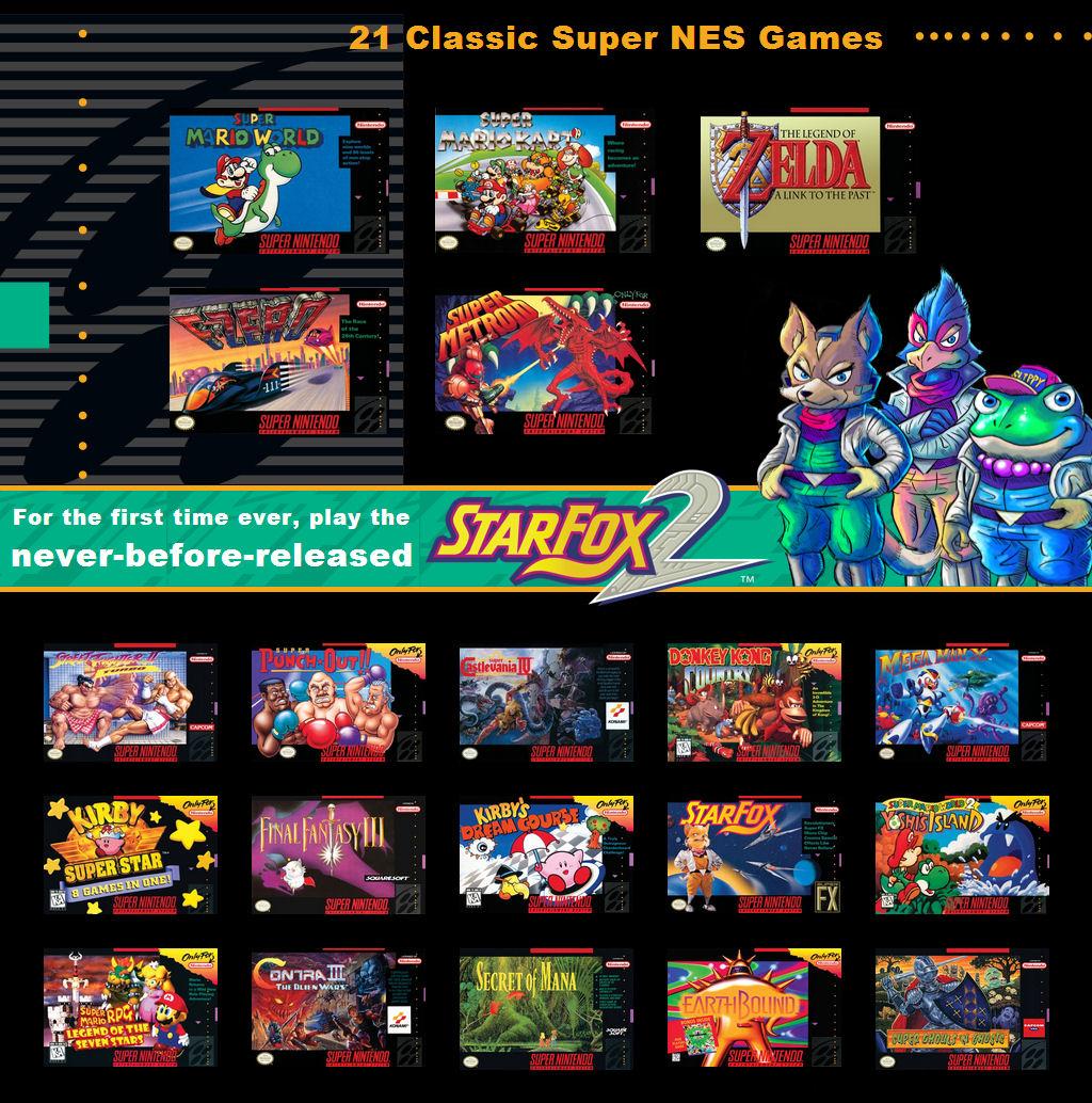 SNES Classic Games