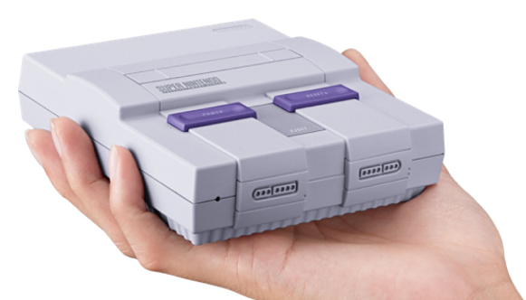 Super NES Classic fits in your hand