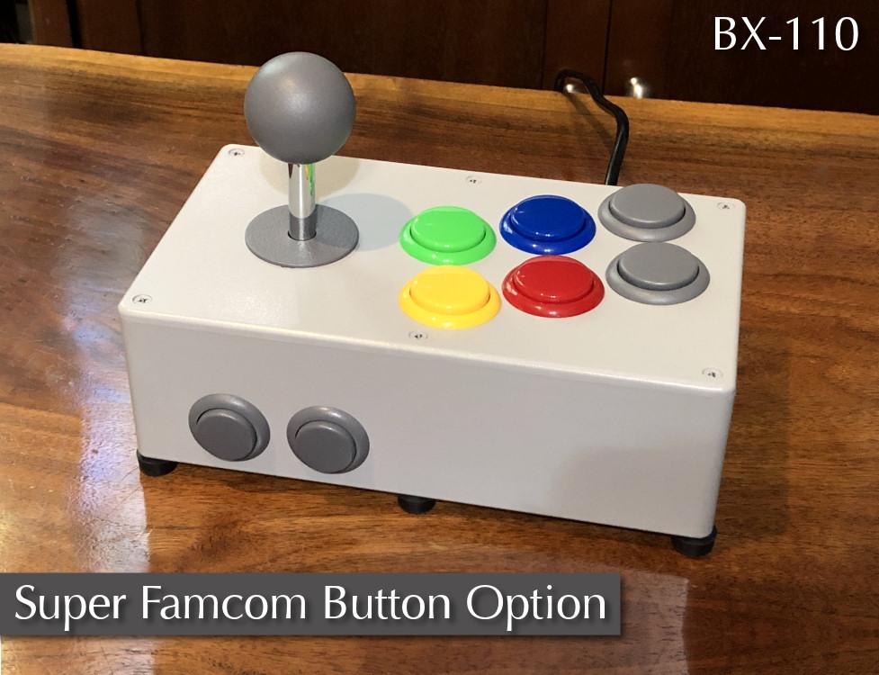 BX Foundry BX-110 Super Famicom Button Option