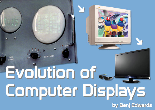 Evolution of Computer Displays by Benj Edwards Title Image