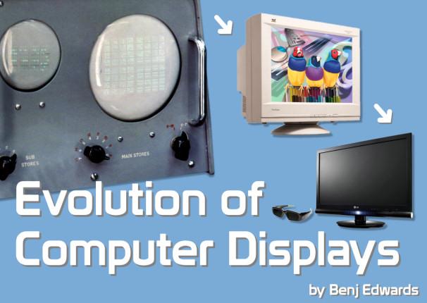Evolution of Computer Displays by Benj Edwards Title Image