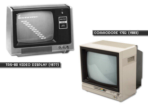 More Early Composite Computer Monitors