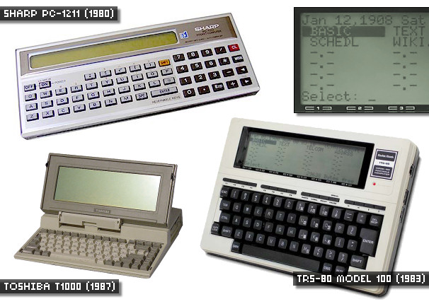 The Early LCD Era - Early LCD computer monitors