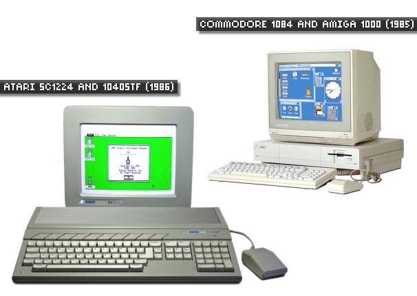 RGB Computer Displays - Early Computer RGB Displays